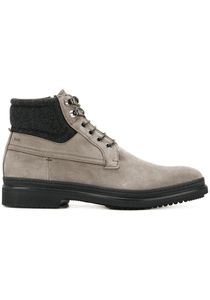 Fabi lace-up boots - Grey