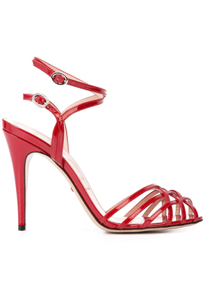 Gucci multiple straps sandals - Red