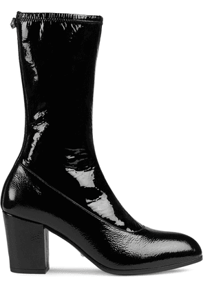 Gucci Patent leather boot - Black