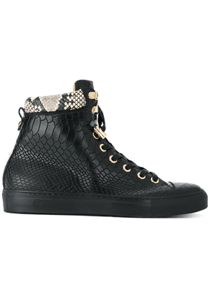 Giuliano Galiano No Limits hi-top sneakers - Black