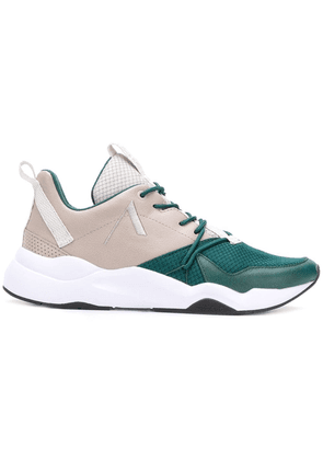 Arkk contrast panels sneakers - Green