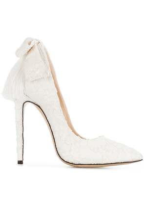 Aleksander Siradekian Izo Bow pumps - White