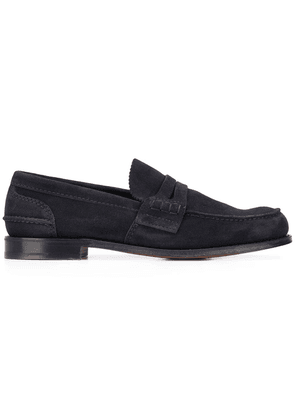 Church's suede loafers - Blue