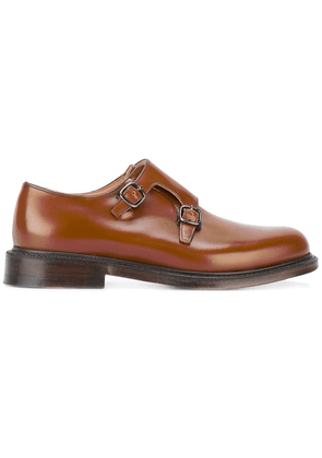 Church's classic monk shoes - Brown