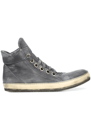 A Diciannoveventitre casual hi-top sneakers - Grey