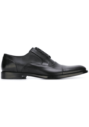 Dolce & Gabbana panelled Derby shoes - Black
