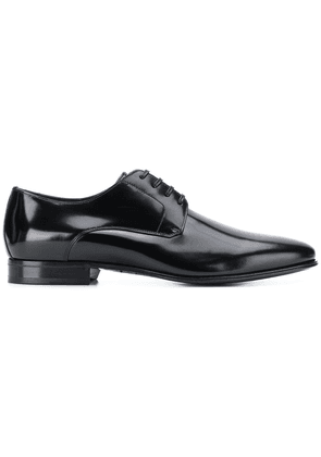 Dolce & Gabbana rounded toe lace-up shoes - Black