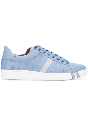 Bally micro perforated sneakers - Blue