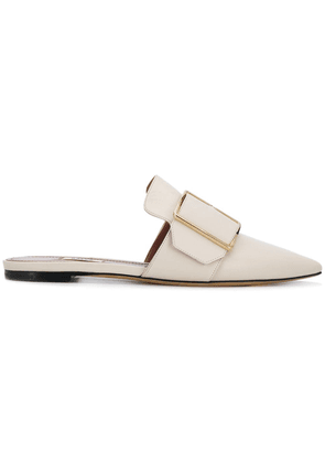 Bally buckled front mules - Neutrals