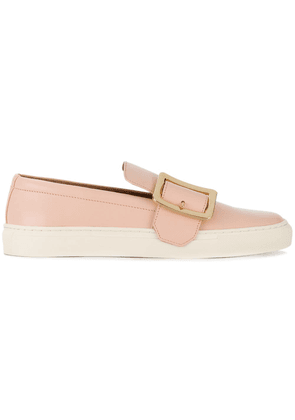 Bally buckled slip-on loafers - Pink