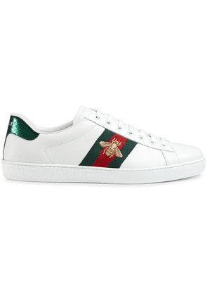 Gucci Ace embroidered low-top sneakers - White
