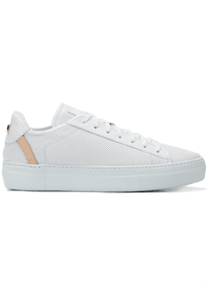Fabi logo low-top sneakers - White