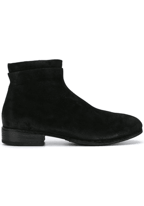 Marsèll layered trim ankle boots - Black