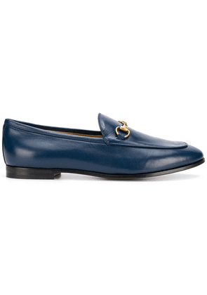 Gucci Jordaan leather loafers - Blue