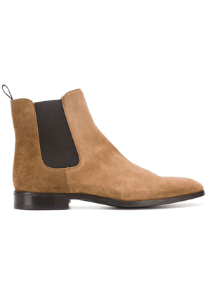 Barbanera elasticated side panel boots - Brown