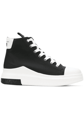 Cinzia Araia lace-up hi-top sneakers - Black