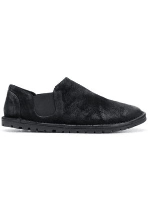 Marsèll elasticated side panel loafers - Black
