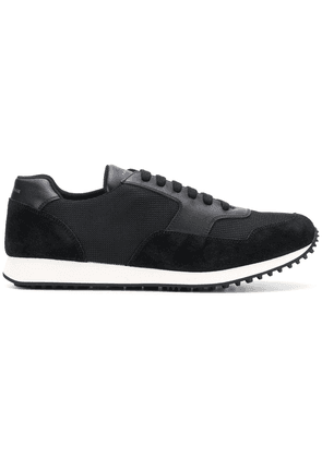 Car Shoe lace-up sneakers - Black