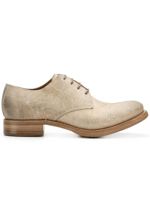 Carpe Diem lace-up Oxford shoes - Neutrals