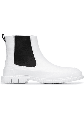 Camper Lab black and white Pix leather boots
