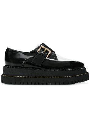 No21 buckled creepers shoes - Black
