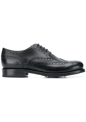 Grenson Stanley brogue shoes - Black