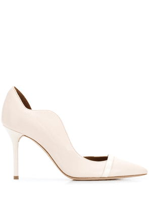 Malone Souliers scalloped pumps - Neutrals
