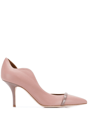 Malone Souliers scalloped edge pumps - Neutrals