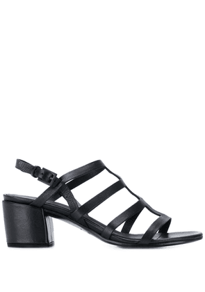 Del Carlo strappy ankle sandals - Black