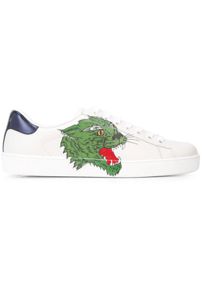 Gucci Ace panther sneakers - White