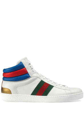 Gucci Ace high-top white sneakers
