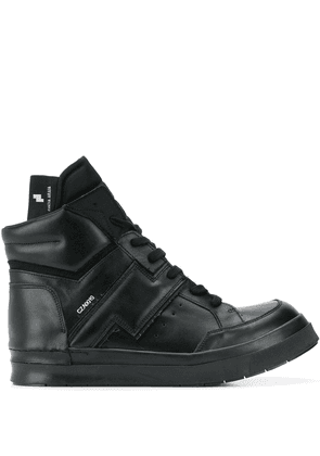 Cinzia Araia Skin hi-top sneakers - Black