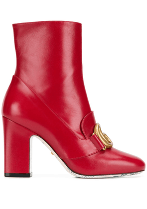 Gucci Double G boots - Red