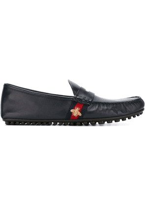 Gucci 'Bee Web' driving shoes - Blue