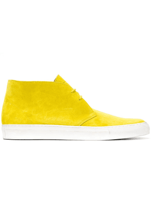 Holland & Holland high-top lace-up shoes - Yellow