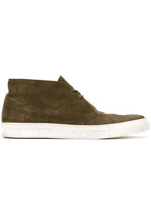 Holland & Holland high-top lace-up shoes - Green