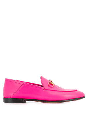 Gucci Brixton collapsible heel loafers - Pink