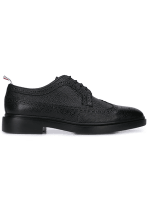 Thom Browne classic Longwing Derby shoes - Black