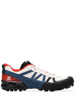 District Vision cream x Salomon Mountain Racer low-top sneakers -