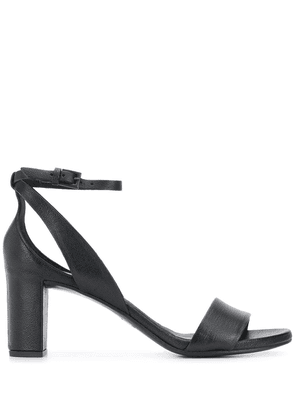 Del Carlo open-toe sandals - Black