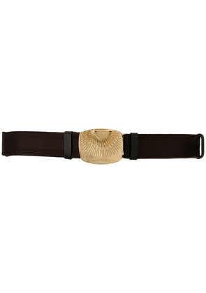 Dorothee Schumacher Rising Sun buckled belt - Brown