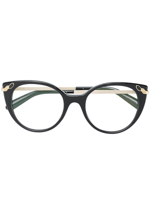 Bulgari cat eye glasses - Black