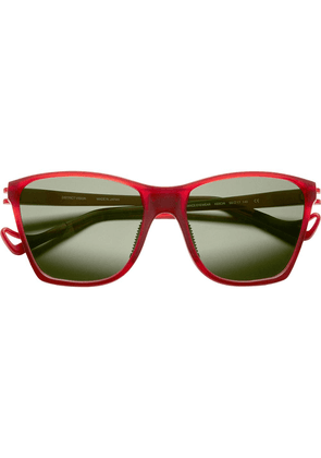 District Vision red Keiichi District Sky G15 sunglasses