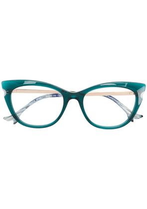 Face À Face cat-eye frame glasses - Green
