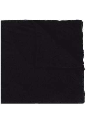 Botto Giuseppe textured scarf - Black