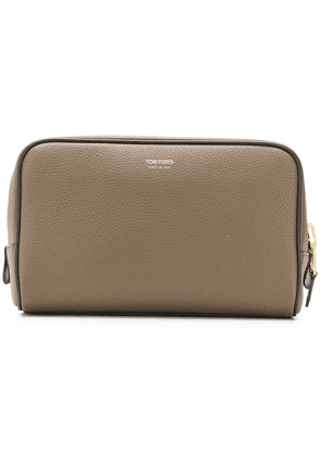 Tom Ford leather wash bag - Green