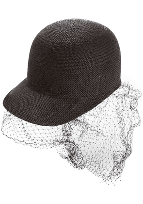 Federica Moretti net panel hat - Black