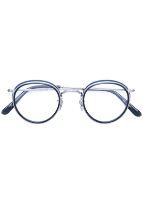 Eyevan7285 round glasses - Metallic