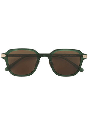 Eyevan7285 square frame sunglasses - Green