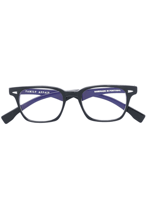 Family Affair square frame glasses - Black